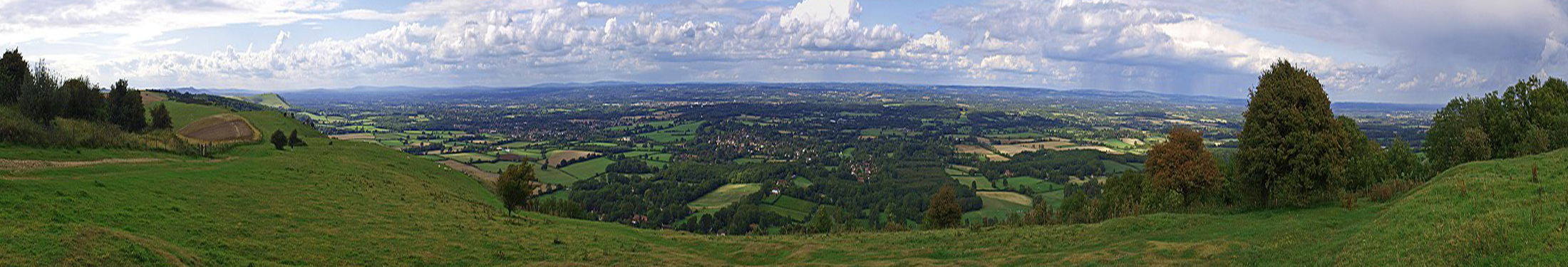 A Panorama of Ditchling